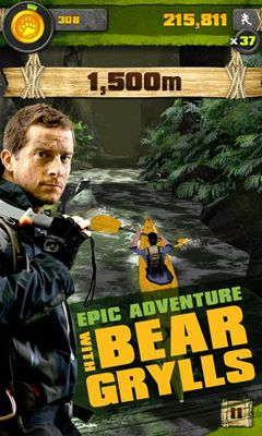 Download Survival Run with Bear Grylls Android free game.