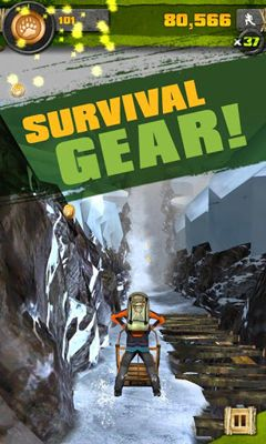 Jogue Survival Run with Bear Grylls para Android. Jogo Survival Run with Bear Grylls para download gratuito.