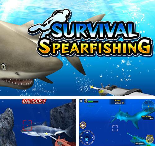 Survival spearfishing