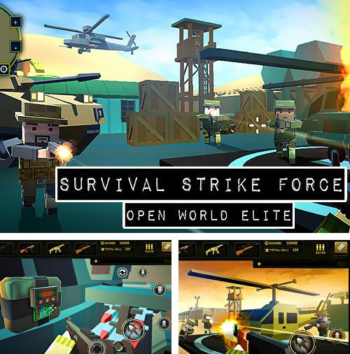 Alem do jogo Vaca de batalha desencadeada para telefones e tablets Android, voce tambem pode baixar Força de ataque de sobrevivência: Elite do mundo aberto, Survival strike force open world elite gratuitamente.