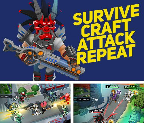 Survive. Craft. Attack. Repeat