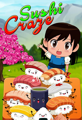 Sushi restaurant craze: Japanese chef cooking game poster