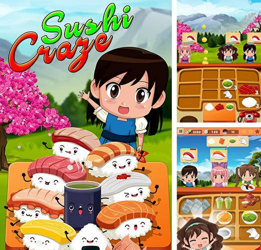 Sushi restaurant craze: Japanese chef cooking game
