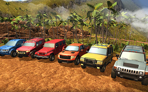 Screenshots von SUV 4x4 offroad rally driving für Android-Tablet, Smartphone.