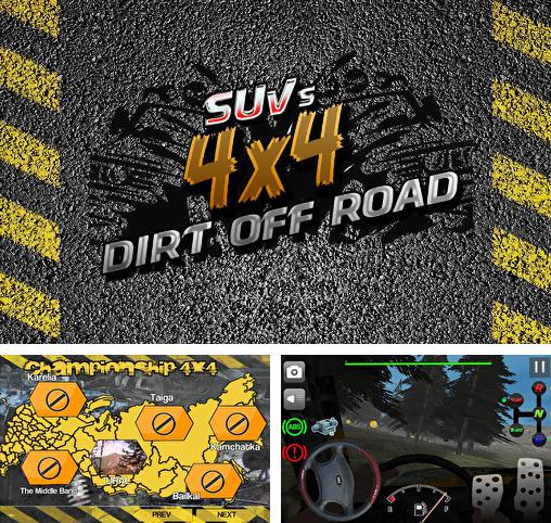 SUVs 4x4: Dirt off road