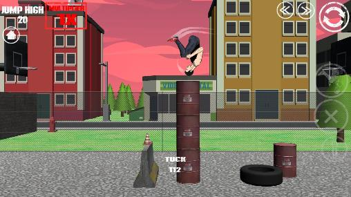 Swagflip: Parkour Madness скриншот 2
