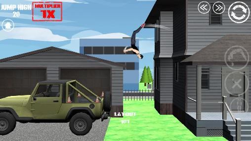Screenshots von Swagflip: Parkour Madness für Android-Tablet, Smartphone.