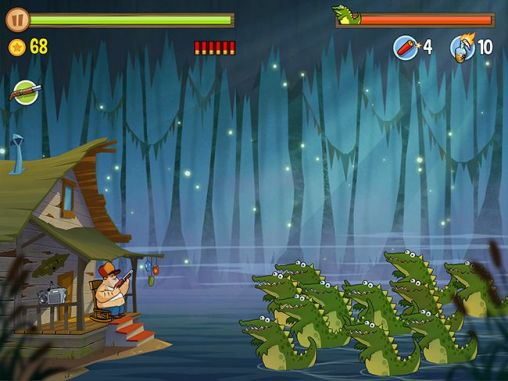 Screenshots von Swamp attack für Android-Tablet, Smartphone.