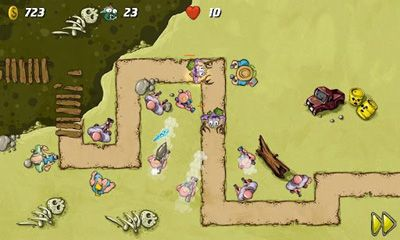 Swamp Defense screenshot 4