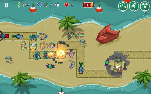 Screenshots von Swamp defense 2 für Android-Tablet, Smartphone.