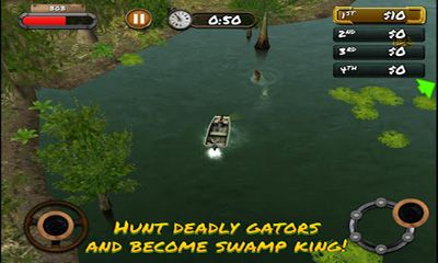 Screenshots do Swamp People - Perigoso para tablet e celular Android.