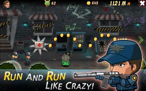Capturas de pantalla de SWAT and zombies: Runner para tabletas y teléfonos Android.