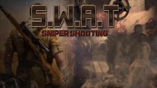 SWAT sniper shooting poster