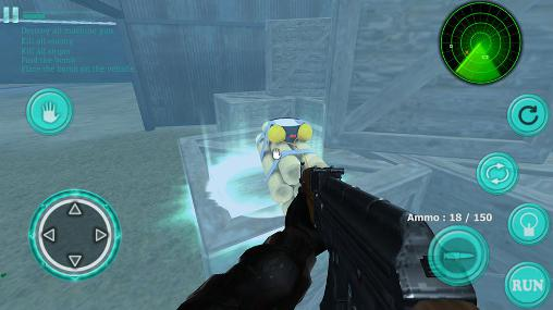 SWAT sniper shooting screenshot 1