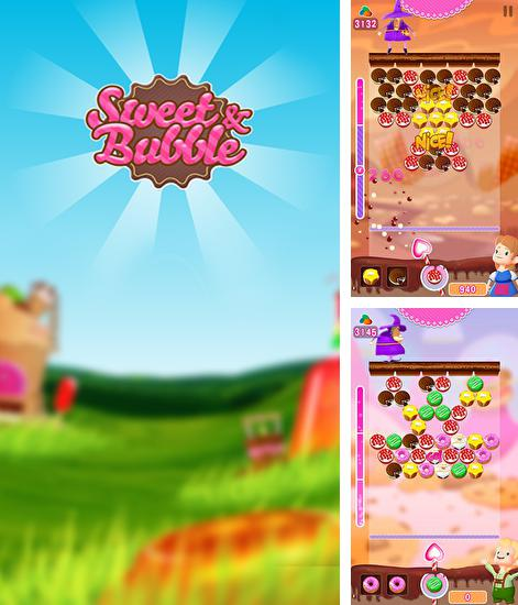 In addition to the game Bubble Maniac for Android phones and tablets, you can also download Sweet and bubble for free.