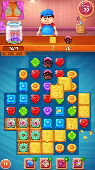 Screenshots of the Sweet blast for Android tablet, phone.