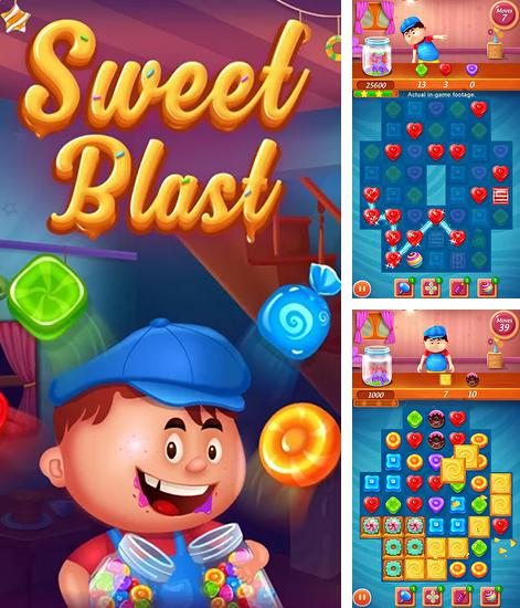 In addition to the game Finding fish frenzy: Seashells for Android phones and tablets, you can also download Sweet blast for free.