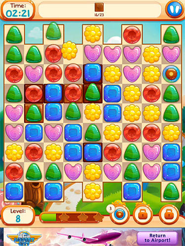 Скачати гру Sweet candies 2: Cookie crush candy match 3 на Андроїд телефон і планшет.