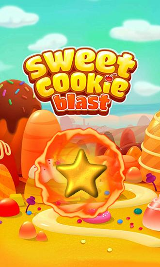 Sweet cookie blast poster