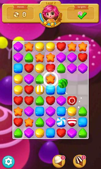 Sweet cookie blast screenshot 1