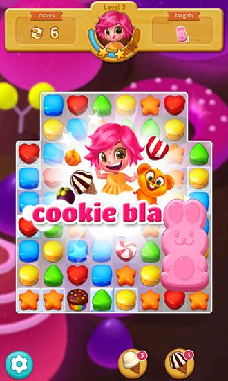 Sweet cookie blast screenshot 2