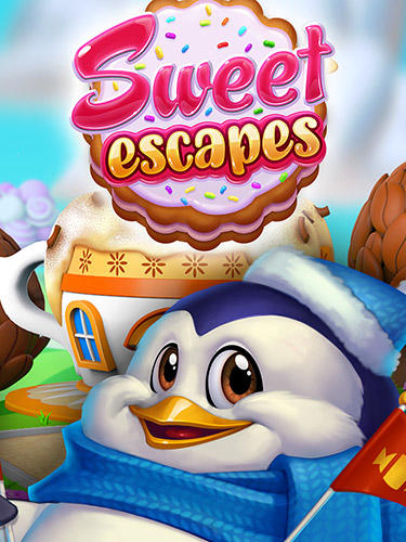 Sweet escapes: Design a bakery with puzzle games обложка