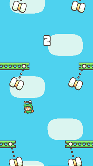 Swing copters 2 скриншот 2