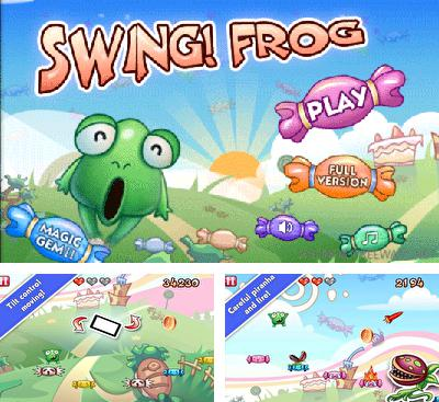 In addition to the game Run For Peace for Android phones and tablets, you can also download Swing! Frog for free.