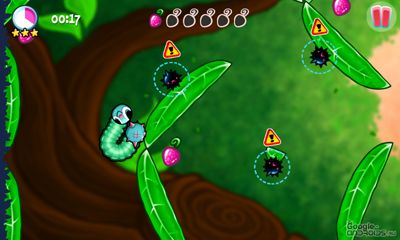 Screenshots of the Swingworm for Android tablet, phone.
