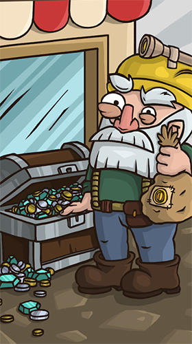 Screenshots von Swipecraft: Idle mining game für Android-Tablet, Smartphone.