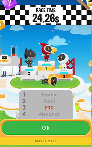 Kostenloses Android-Game Switch Rennen: Raketengeschichte. Vollversion der Android-apk-App Hirschjäger: Die Switch race: Rocket's tale für Tablets und Telefone.