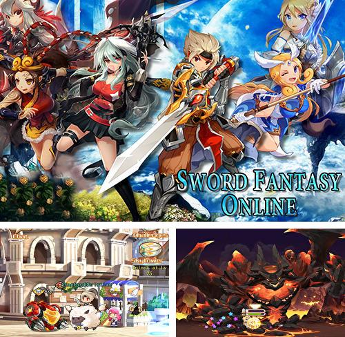 In addition to the game Strategy and tactics: Dark ages for Android phones and tablets, you can also download Sword fantasy online: Anime MMORPG for free.