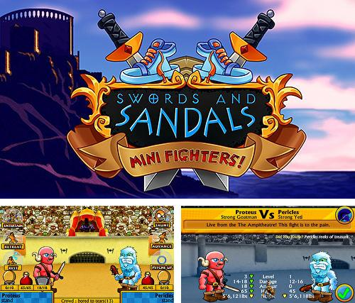 Swords and sandals mini fighters!