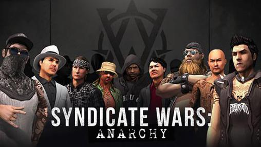 Syndicate wars: Anarchy poster