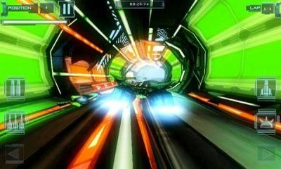Screenshots of the T-Racer HD for Android tablet, phone.