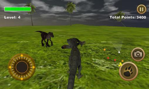 Screenshots do T-Rex survival simulator - Perigoso para tablet e celular Android.