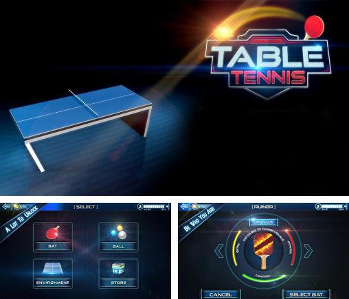 In addition to the game World Cup Table Tennis for Android phones and tablets, you can also download Table tennis 3D: Live ping pong for free.