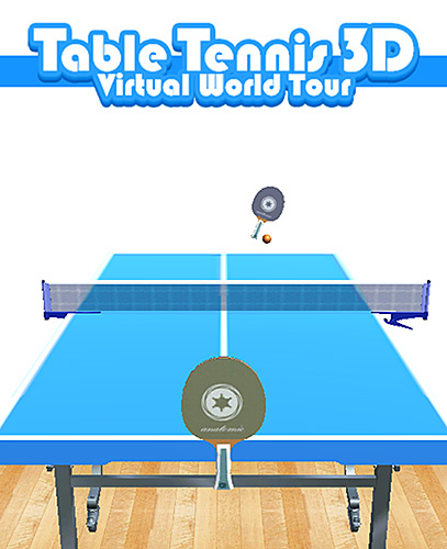Table tennis 3D virtual world tour ping pong Pro poster