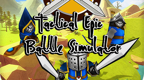 Tactical epic battle simulator poster