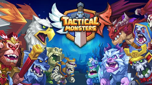 Tactical monsters: Rumble arena poster