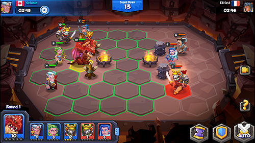 Screenshots von Tactical monsters: Rumble arena für Android-Tablet, Smartphone.