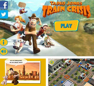En plus du jeu Trouble avec le Train pour téléphones et tablettes Android, vous pouvez aussi télécharger gratuitement Tadeo Jones : la Crise des Trains, Tadeo Jones Train Crisis Pro.