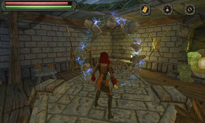 Screenshots of the Tainted Keep for Android tablet, phone.