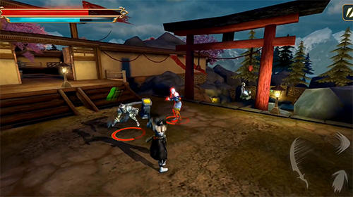 Download Game Android Takashi: Ninja Warrior