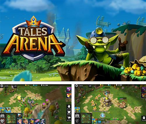 Tales arena: This is the RTS games on your palm