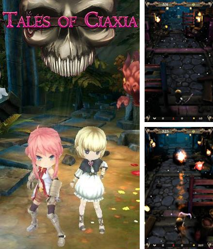 In addition to the game Odd One Out: Candytilt for Android phones and tablets, you can also download Tales of Ciaxia for free.