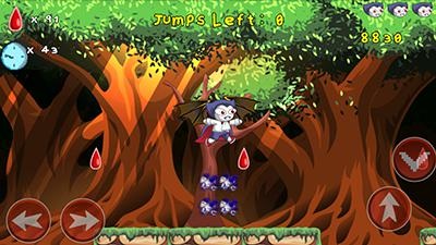 Screenshots do Tales Of Vampikid - Perigoso para tablet e celular Android.