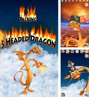 In addition to the game Talking Alan Alien for Android phones and tablets, you can also download Talking 3 Headed Dragon for free.