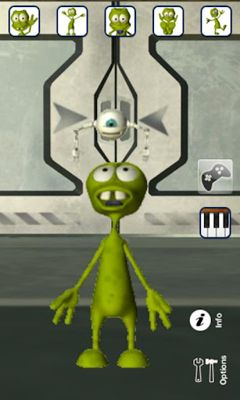 Download Talking Alan Alien Android free game.