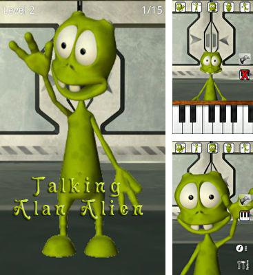 In addition to the game Talking Cyborg for Android phones and tablets, you can also download Talking Alan Alien for free.